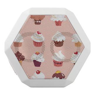 Cupcakes White Boombot Rex Bluetooth Speaker