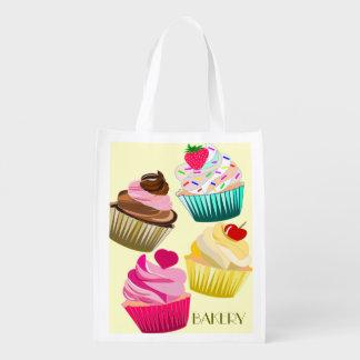 cupcakes,bread shopping bag,bakery shopping bag