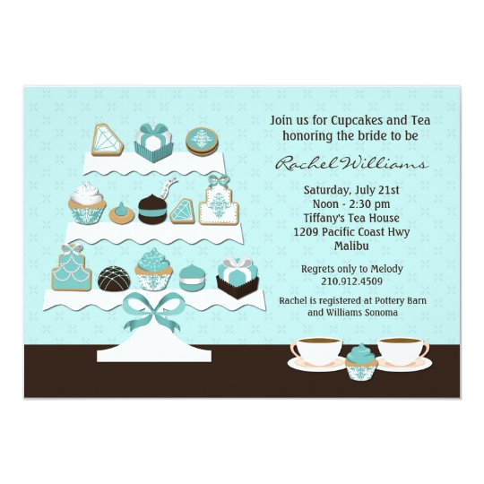 Cupcakes Bridal Shower Invitation