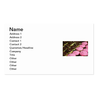 CUPCAKES Double-Sided STANDARD BUSINESS CARDS (Pack OF 100)