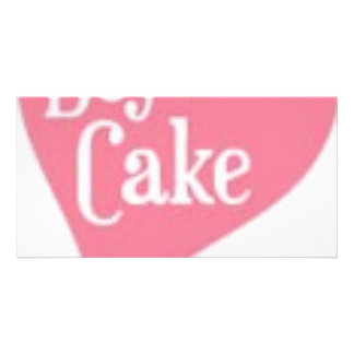 Cupcakes By Post By BuyCake co uk Customized Photo Card
