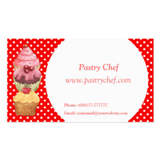 Cupcakes Cakes Pastries  Business Profile Card