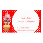 Cupcakes Cakes Pastries  Business Profile Card Business Cards
