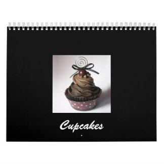 Cupcakes Calender 2009 Wall Calendar