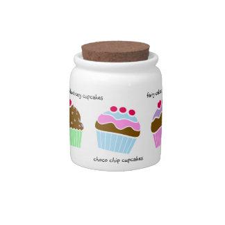 Cupcakes Candy Jar