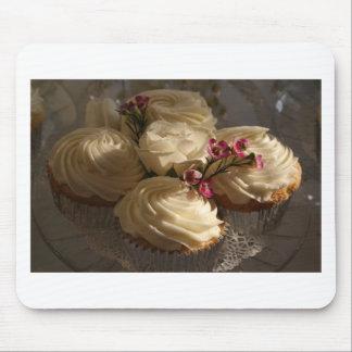 Cupcakes closeup mouse pad