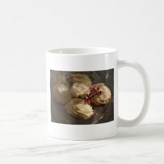Cupcakes closeup mugs