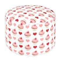 cupcakes cuties pouf