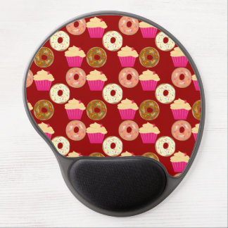 Cupcakes & Donuts Gel Mouse Pad