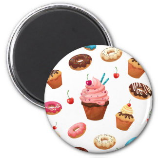 Cupcakes Donuts Magnet