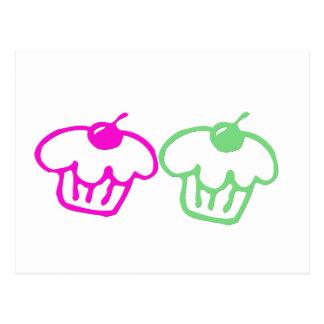Cupcakes Duo Postcard