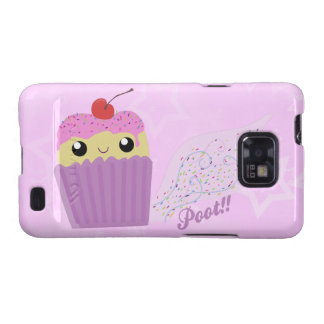 Cupcakes Fart Sprinkles Samsung Galaxy Case