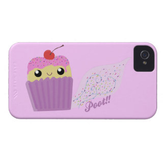Cupcakes Fart Sprinkles Case-Mate iPhone 4 Case