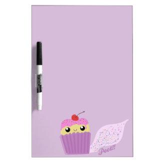 Cupcakes Fart Sprinkles Dry-Erase Board