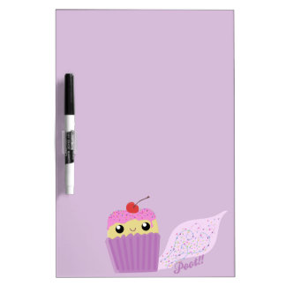 Cupcakes Fart Sprinkles Dry-Erase Boards