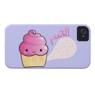 Cupcakes Fart Sprinkles iPhone 4 Case-Mate Case