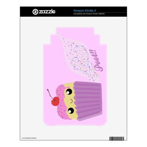 Cupcakes Fart Sprinkles Kindle Decal