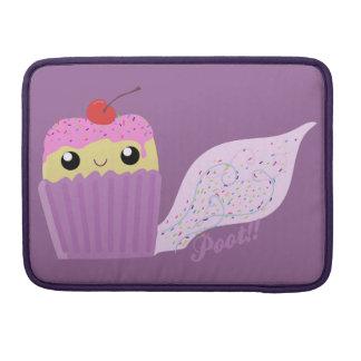 Cupcakes Fart Sprinkles Sleeves For MacBook Pro