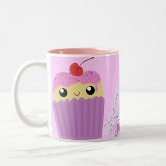 Cupcakes Fart Sprinkles Two-Tone Coffee Mug