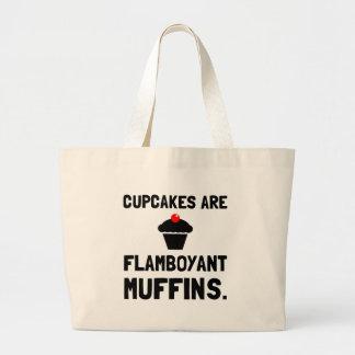 Cupcakes Flamboyant Muffins Jumbo Tote Bag