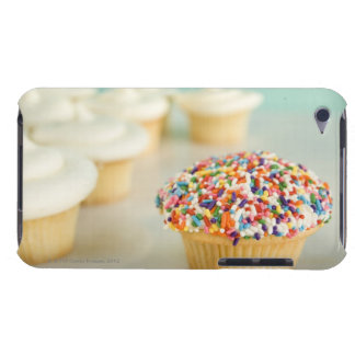 Cupcakes, focus on one in front with iPod touch cases