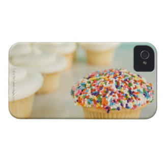 Cupcakes, focus on one in front with iPhone 4 Case-Mate case