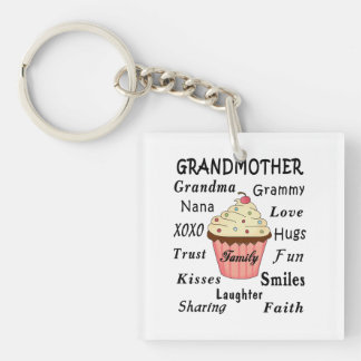 Cupcakes For Grandmothers Keychain