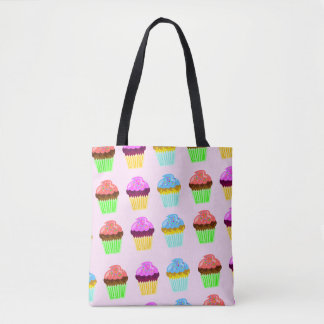 Cupcakes for Happiness Tote Bag