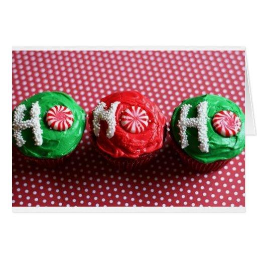 Cupcakes For Santa Greeting Cards