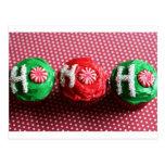 Cupcakes For Santa Post Card