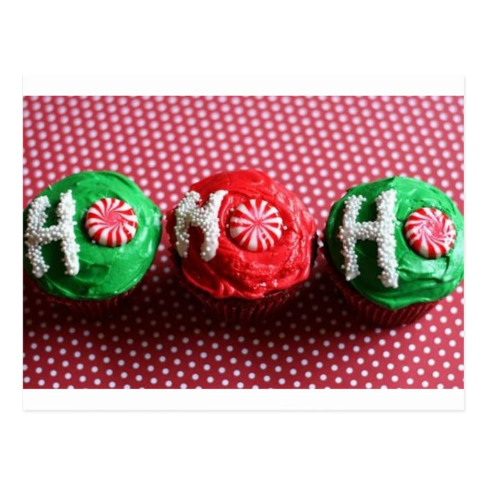 Cupcakes For Santa Postcard