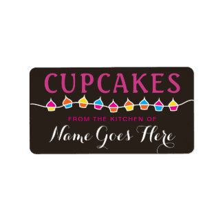 CUPCAKES from the kitchen of stickers