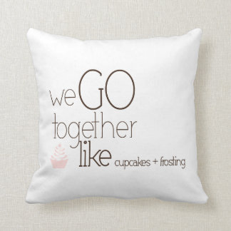 Cupcakes & Frosting Pillow