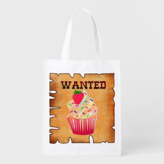 cupcakes,funny shopping bag market totes