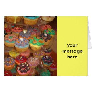 Cupcakes galore card