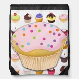 Cupcakes Galore - Drawstring Backpack5 Drawstring Backpack