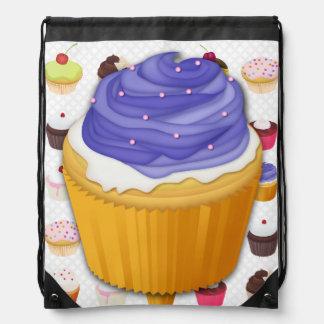 Cupcakes Galore - Drawstring Backpack 2