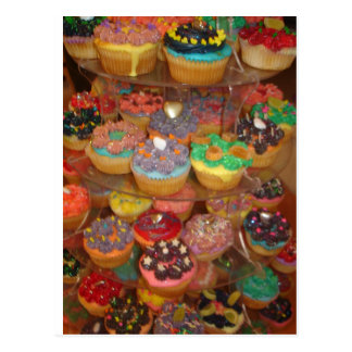 Cupcakes galore postcard