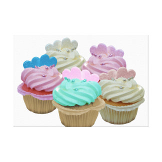 Cupcakes Galore! Wrapped Canvas Stretched Canvas Prints