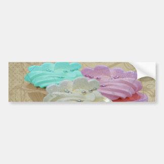 Cupcakes Grunge Bumper Sticker