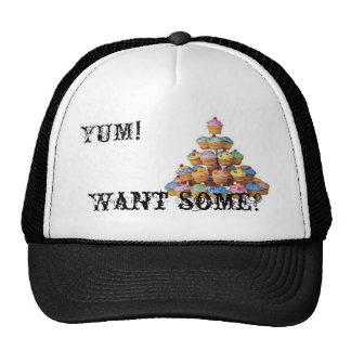 cupcakes trucker hats