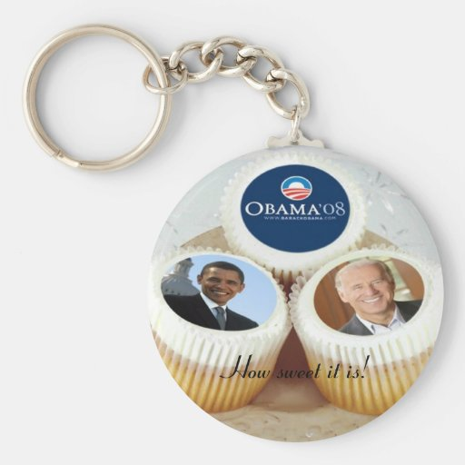CUPCAKES, How sweet it is! key chain