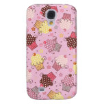 Cupcakes in Pink Galaxy S4 Cases