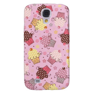 Cupcakes in Pink Samsung S4 Case