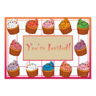 Cupcakes Invitation