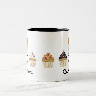 Cupcakes Live Love Coffee Mugs