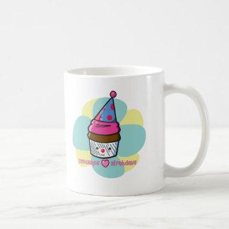Cupcakes Love Birthdays Coffee Mug