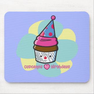 Cupcakes Love Birthdays Mouse Pad
