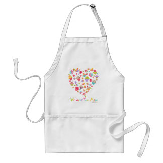 Cupcakes Love Mother Apron