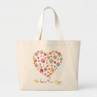 Cupcakes Love Mother Totebag bag